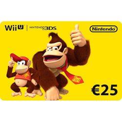 گیفت کارت ۲۵ یورو نینتندو – Nintendo EShop Card 25 Euro