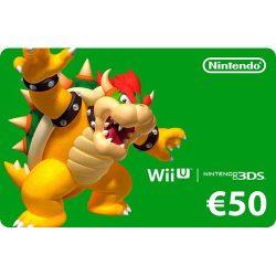 گیفت کارت ۵۰ یورو نینتندو – Nintendo EShop Card 50 Euro