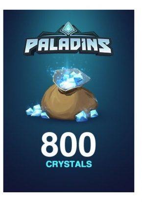 Paladins 800 Crystals