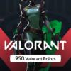 گیم کارت 950 Valorant Points سرور EU