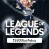 گیم کارت League of Legends 1380RP سرور EUW و EUNE